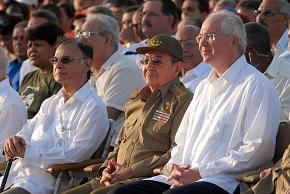 Celebra Cuba acto por el 26 de Julio en Santa Clara