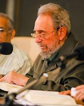 Mensaje de Fidel en la  presentación de su segundo libro